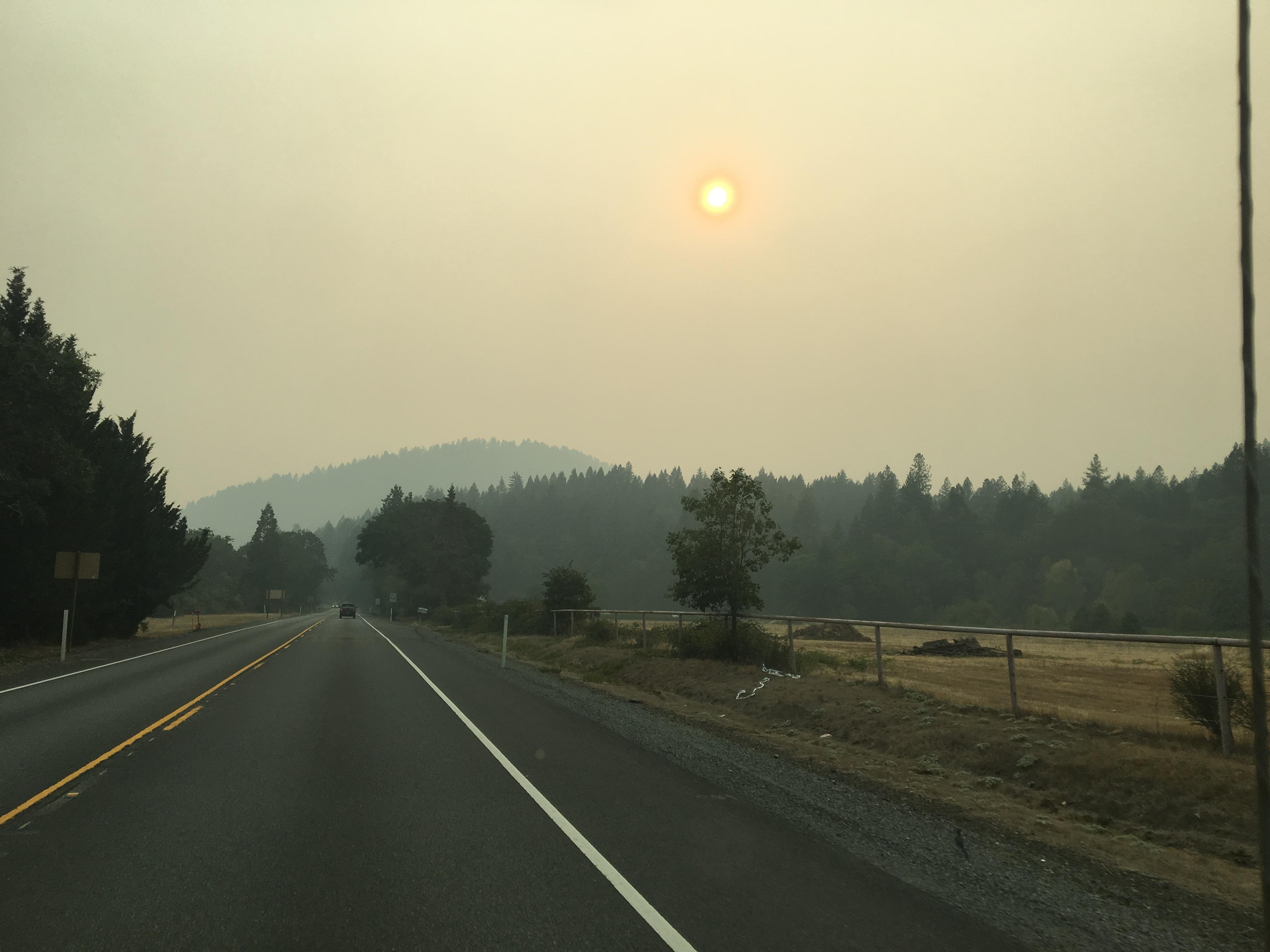 Quand la terre brûle par @BenMonville #Incendies #Réchauffementclimatique #Californie #RiseForClimate