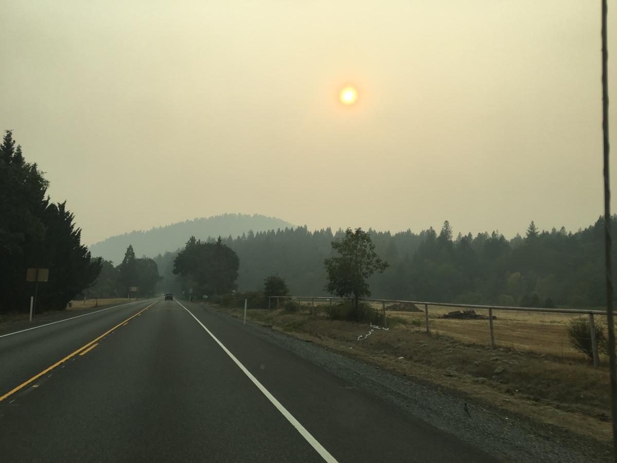 Quand la terre brûle par @BenMonville #Incendies #Réchauffementclimatique #Californie#RiseForClimate